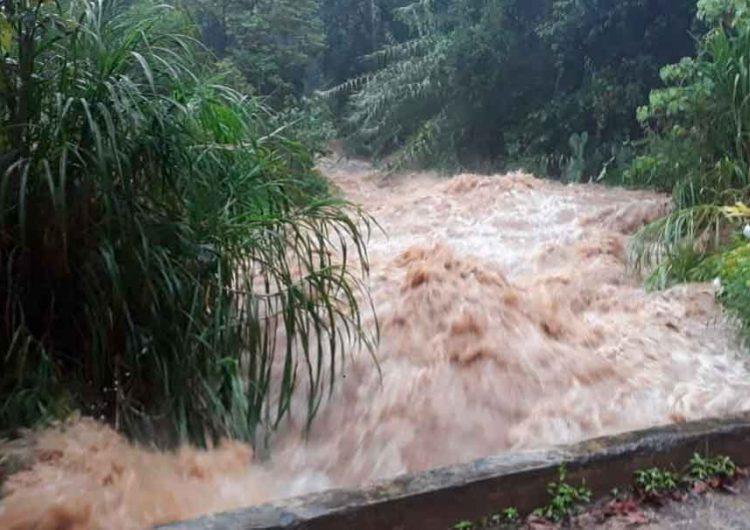 Se reportan deslaves en 5 municipios de Puebla y se vigila corriente de tres ríos