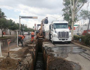 Rehabilita Veolia Aguascalientes alcantarillado en Av. Independencia