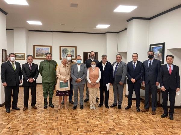 Se reúne gobernador de Aguascalientes con gabinete de seguridad de la 4T