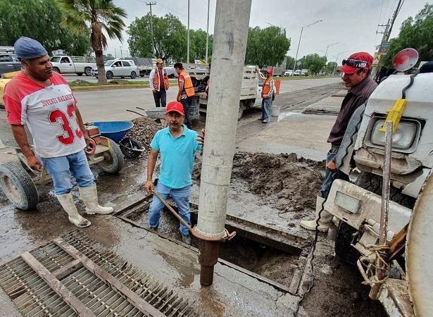 Supervisan obras emergentes para evitar inundaciones en Jesús María