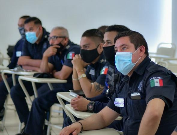 "Capacitan en ""Nuevas masculinidades"" a policías municipales de Aguascalientes"