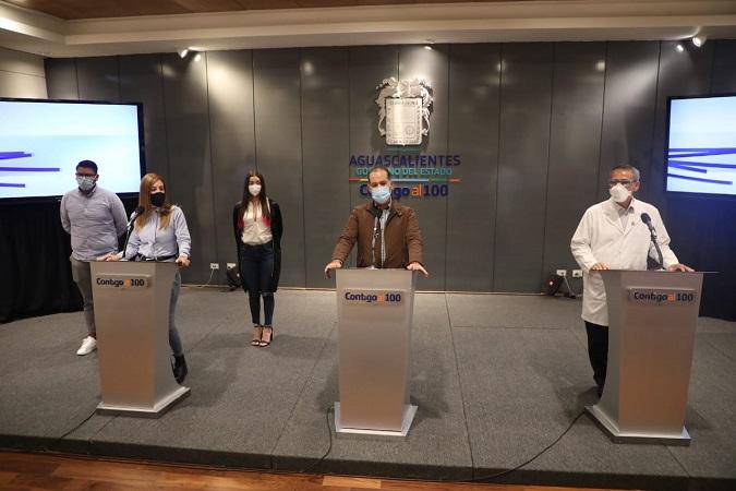 Prepara gobierno del Estado campaña de concientización para que jóvenes se vacunen