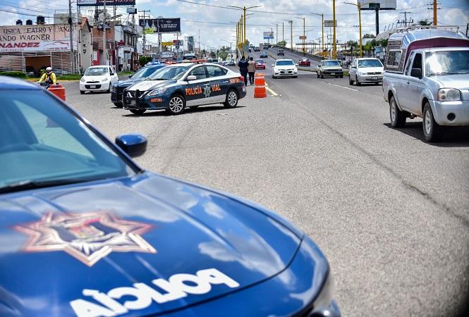 Implementa policía vial de Aguascalientes nueva campaña de prevención de accidentes