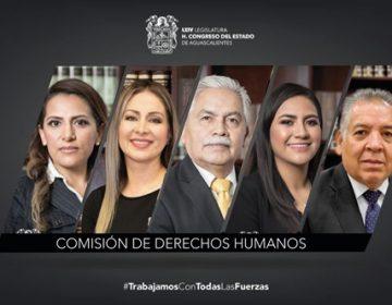 Aprueba comisión iniciativa para crear Ley de Protección de Defensores de DH y Periodistas de Ags.