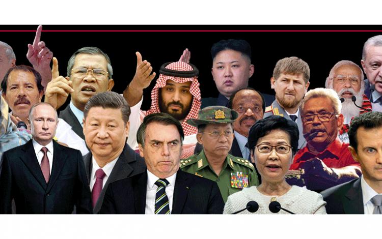 Aquí los jefes de Estado considerados 'depredadores de la libertad de prensa', según RSF