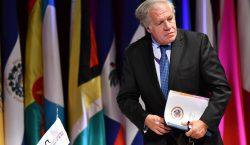 Secretario general de la OEA anuncia que dio positivo a…