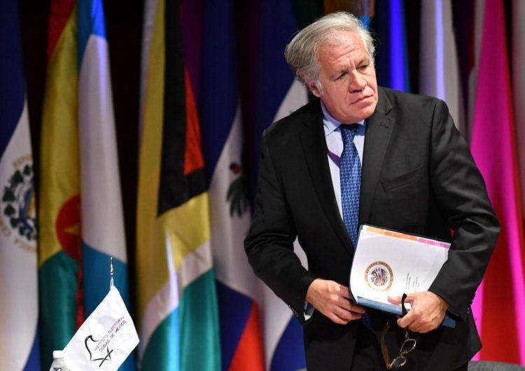 Secretario general de la OEA anuncia que dio positivo a covid-19