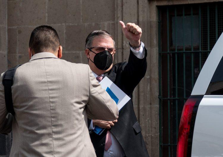 El canciller Marcelo Ebrard se anota como aspirante presidencial para 2024