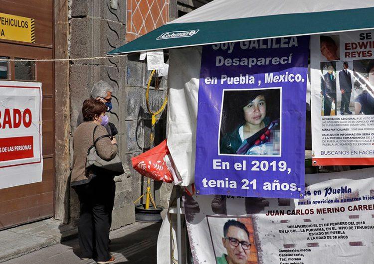 Colectivo Voz de Desaparecidos pide conocer iniciativa de Barbosa antes de sesión legislativa