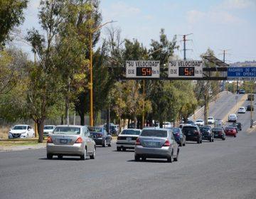 Más de 2 mil multas por exceso de velocidad en una semana en Aguascalientes