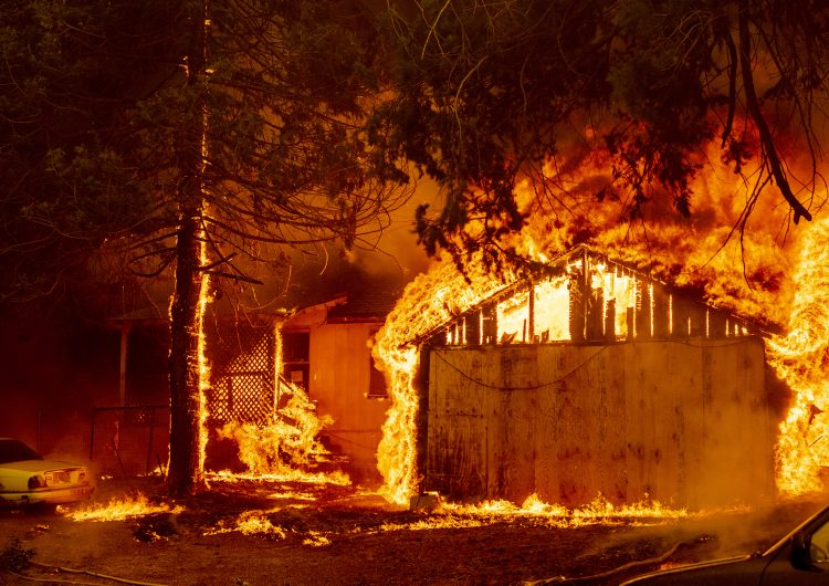 Dixie se convierte en el incendio más devastador en la historia de California