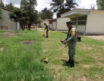 Reanuda Ejército Mexicano acciones de labor social en Aguascalientes