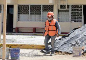 450 escuelas de Puebla al 40% las adecuaciones para el regreso presencial