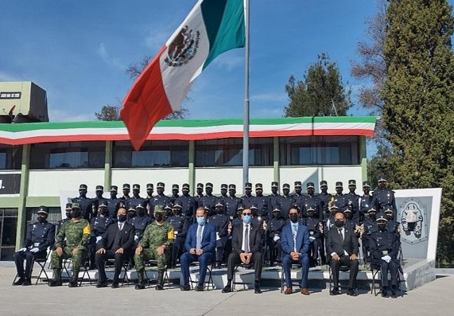 Se gradúa primera generación del Bachillerato Militarizado de Aguascalientes