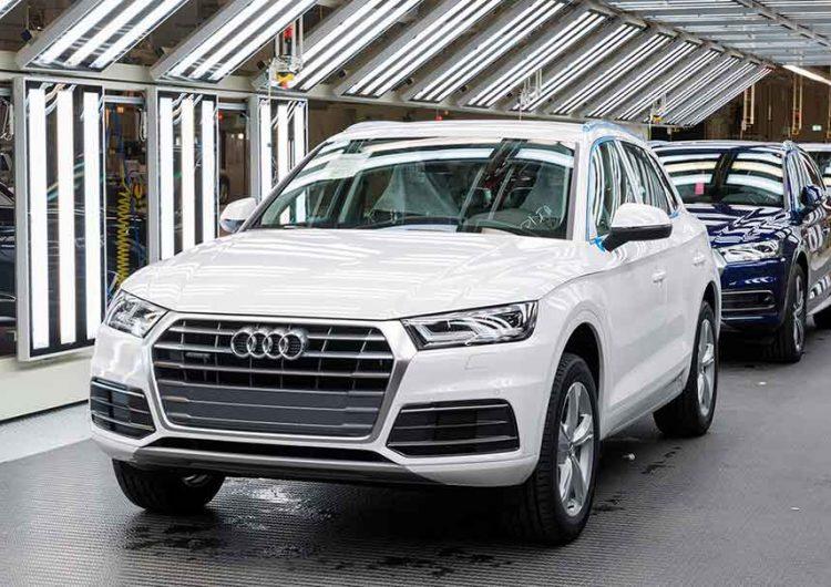 Por contagios Covid-19 en trabajadores, Audi frenará producción