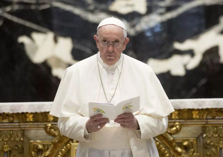 Sobre con tres balas dirigido al papa Francisco es interceptado en Italia