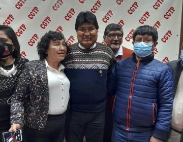 El covid-19 es parte de una guerra biológica creada por el capitalismo: Evo Morales