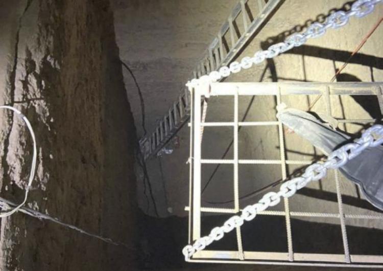 EU y México descubren túnel subterráneo cavado por organización del narcotráfico
