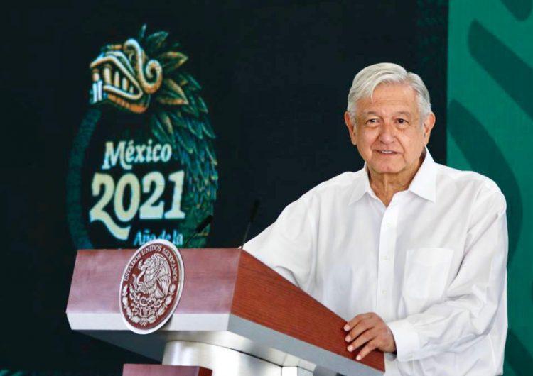 López Obrador se dice 'contento' con los resultados de la consulta popular; 'fue un buen inicio'