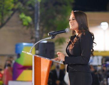 Presenta Tere Jiménez informe de actividades sectorizado en el barrio de El Encino