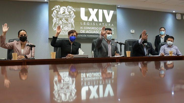 Sesiona Diputación Permanente del Congreso de Aguascalientes