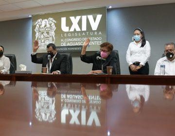 Sesionó la Diputación Permanente del Congreso de Aguascalientes