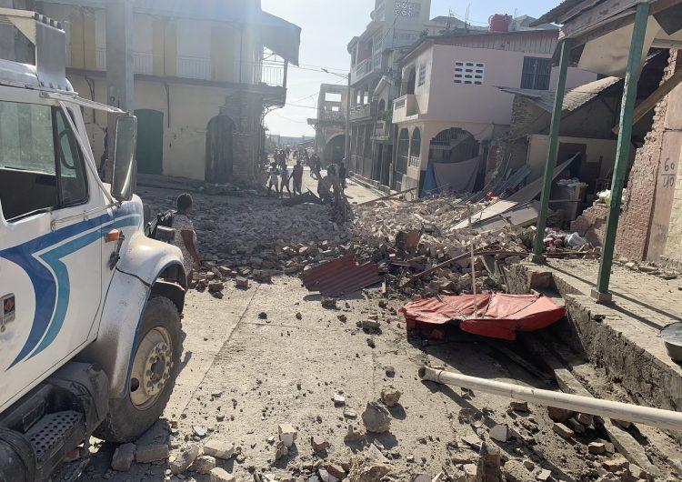 Haití: Terremoto de 7.2 grados, aún sin estimar el número de muertos y los daños