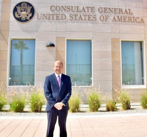 Llega nuevo cónsul de EU a Tijuana