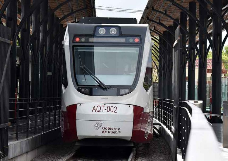 El Tren Turístico Puebla-Cholula, servicio irregular desde que inició
