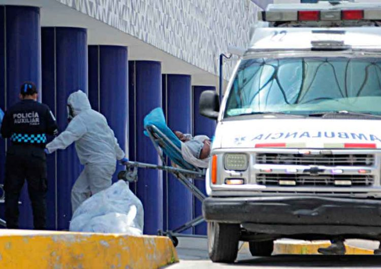 En Puebla hay 964 hospitalizados Covid, 123 se reportan graves