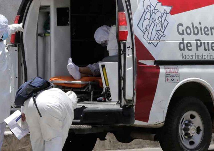 En Puebla se registran 48 muertos y 602 infectados por Covid en 24 horas