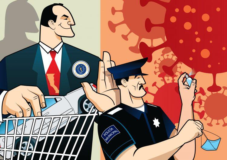 Compras en pandemia: Secretaría de Seguridad de Tijuana adquiere de todo, menos elementos de protección para policías