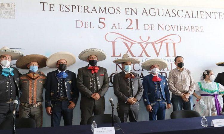 Presenta gobernador de Aguascalientes Congreso Nacional Charro en Querétaro