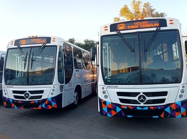 Sacan de circulación 43 camiones urbanos por no contar con permisos vigentes