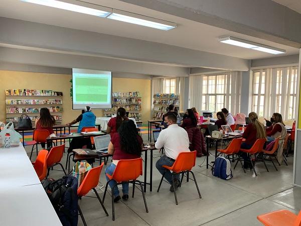 Capacitan a 12 mil maestros previo al regreso a clases en Aguascalientes