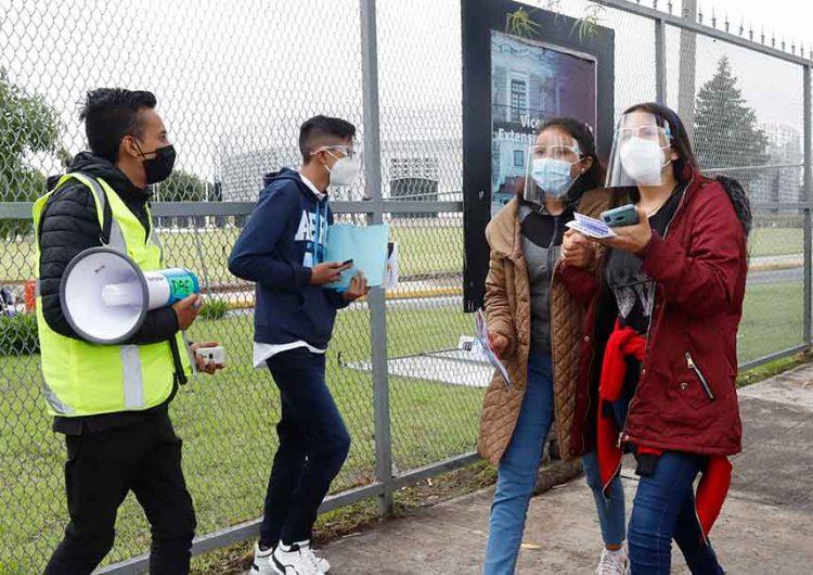 Universitarios BUAP apoyan votación en línea para renovar rectoría