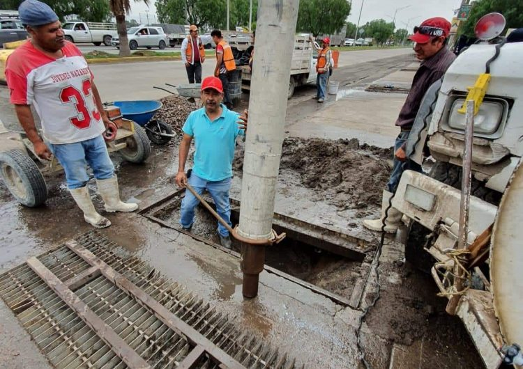 Realiza CAPAS trabajos para evitar inundaciones en tercer anillo oriente