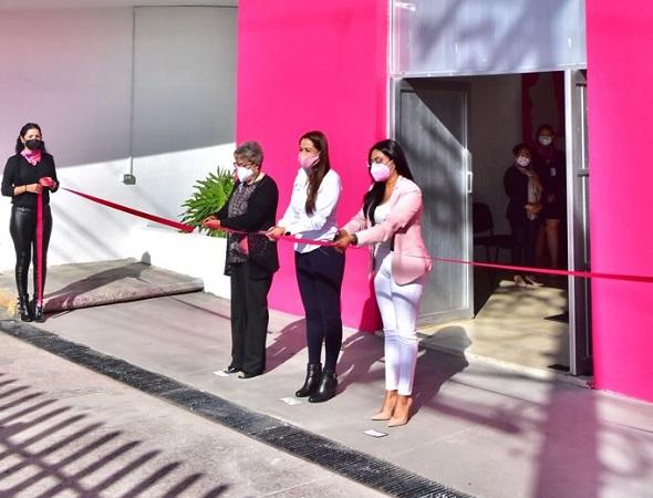 Inauguran Casa Rosa de la Mujer en el municipio de Aguascalientes
