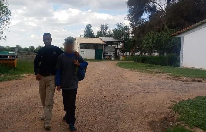 Localizan a menor de 13 años que se encontraba desaparecido en Asientos