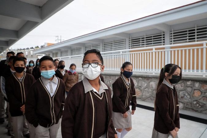 Más de 290 mil estudiantes regresaron a clases presenciales en Aguascalientes