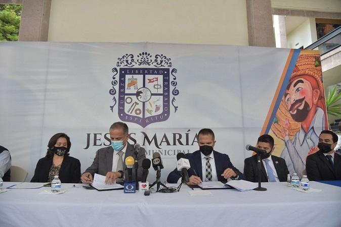 Municipio de Jesús María y Universidad Cuauhtémoc firman convenio de colaboración