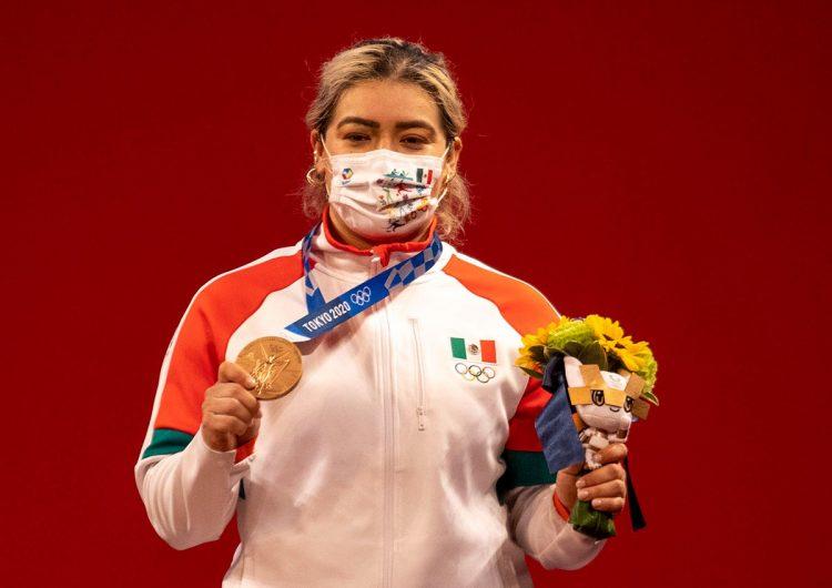 Tokio 2020: la pesista Aremi Fuentes gana tercera medalla de bronce para México