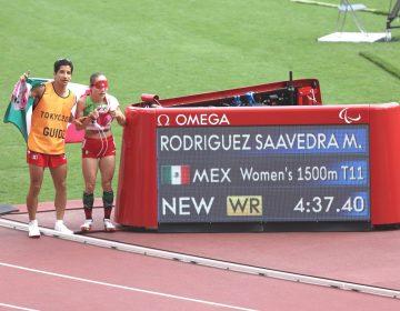Mónica Rodríguez gana medalla de oro número 100 para México en la historia de los Juegos Paralímpicos