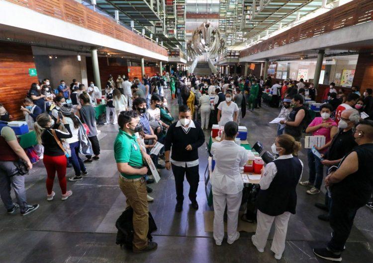 Covid-19: México suma hoy 786 decesos; se registran 19,555 nuevos casos de contagios