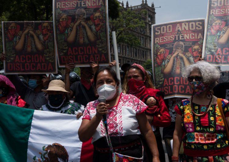 AMLO califica como 'fracaso' la conquista española a cinco siglos de la toma de Tenochtitlan