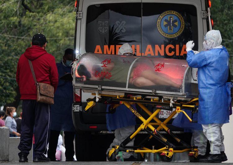 Covid-19: México registra 986 nuevas defunciones; suma 21,250 nuevos casos
