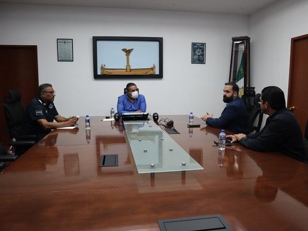 Acuerdan empresarios y SSPE compromisos para combatir delitos en Aguascalientes