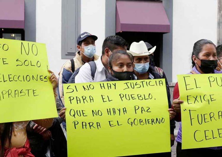 Pobladores de Coyomeapan exigen auditoría y acabar con cacicazgo en el municipio