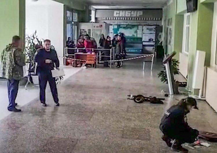 Tiroteo en universidad de Rusia deja al menos 8 muertos y una veintena de heridos