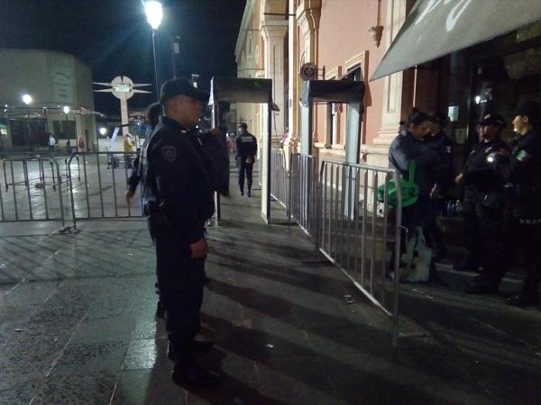Definen operativo de seguridad para celebración del Grito de Independencia en Aguascalientes